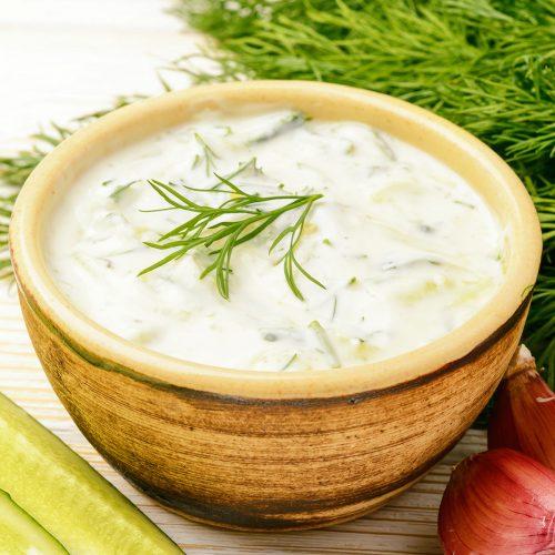 Греческий соус тзатзики