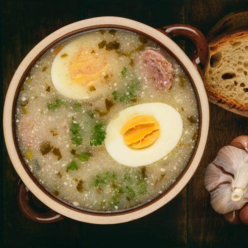 Журек - традиционный польский суп