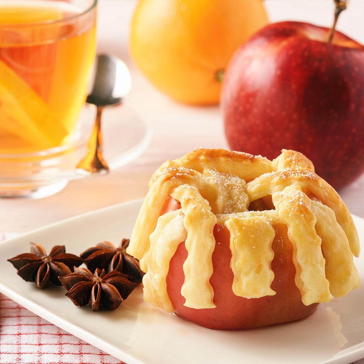 Фаршированные и запеченные в духовке яблоки