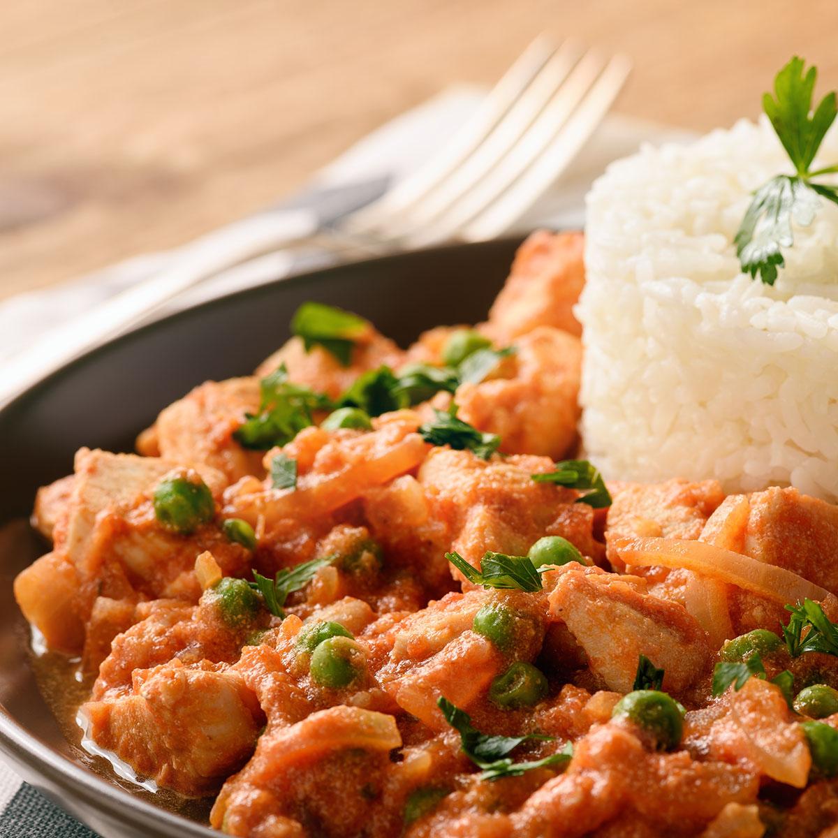 Куриное филе в томатно-сметанном соусе