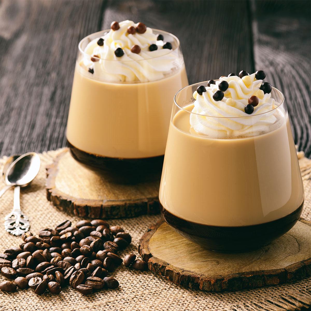 Кофейная паннакота