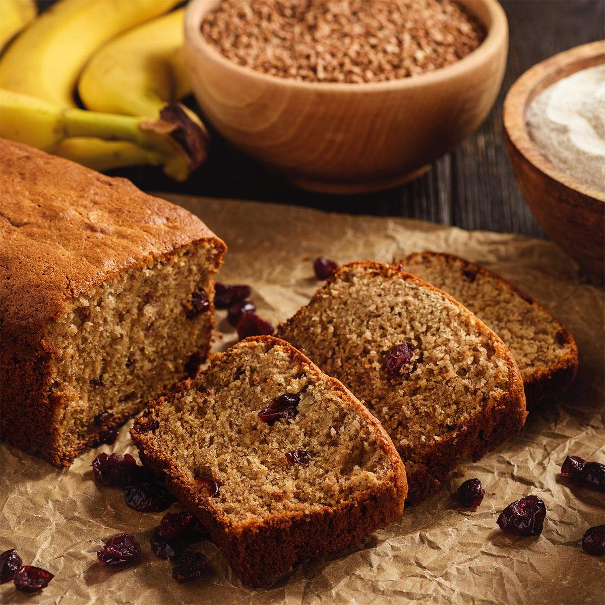 Безглютеновый банановый хлеб